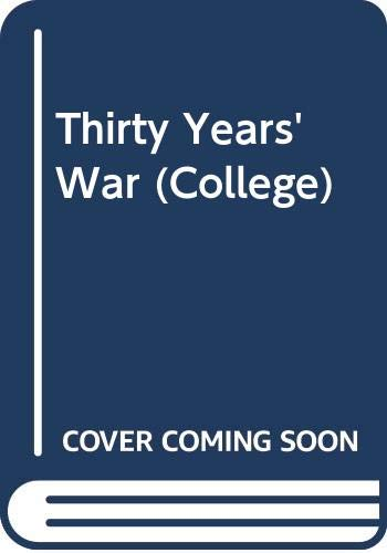 9780669825039: Thirty Years' War (College)