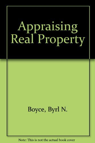 9780669830972: Appraising Real Property