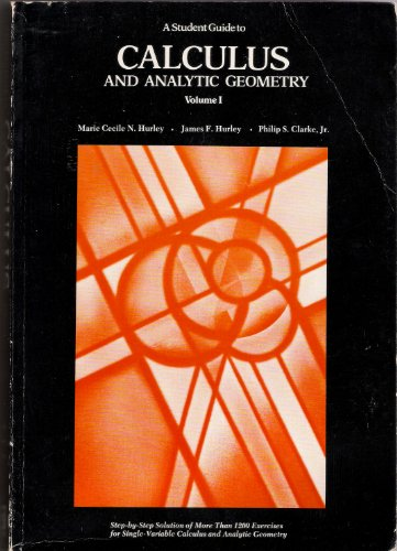 9780669862072: A student guide to Calculus and analytic geometry