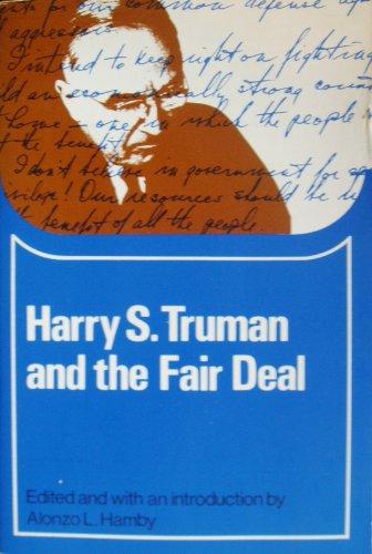 9780669870800: Harry S. Truman and the Fair Deal