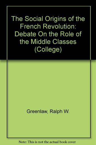 Social Origins of the French Revolution