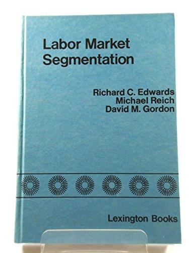 Labour Market Segmentation (Lexington Books): Edwards, Richard C., etc.