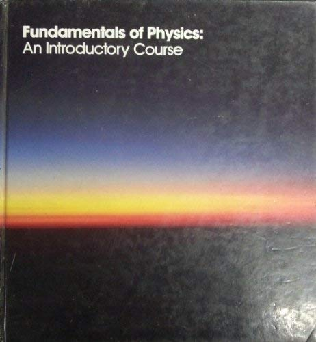 Fundamentals of Physics: David G. Martindale
