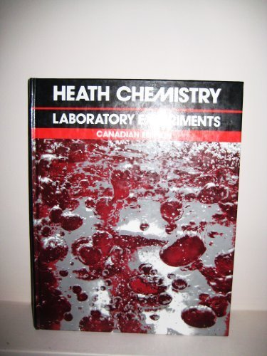 9780669952919: Heath Chemistry: Laboratory Experiments - Canadian Edition
