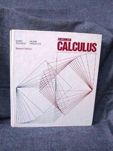 9780669967272: Freshman Calculus (College)