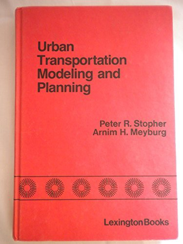 9780669969412: Urban Transportation Modeling and Planning