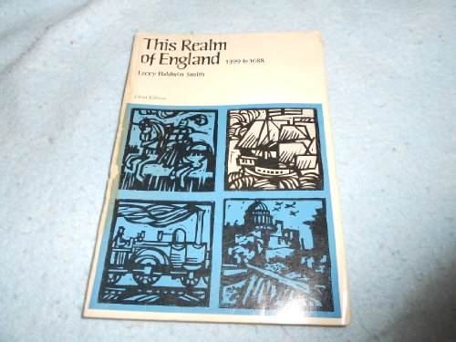 9780669979497: Title: This Realm of England 1399 to 1688
