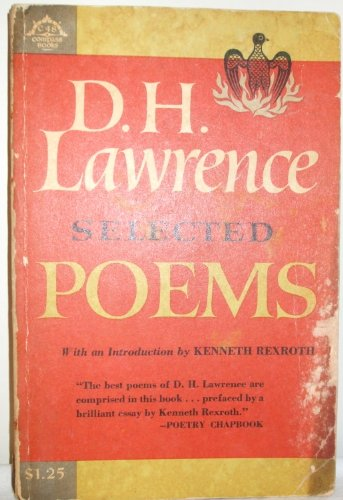 Lawrence : Selected Poems: D. H. Lawrence
