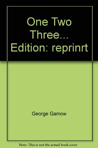 9780670001279: One Two Three... Edition: reprinrt