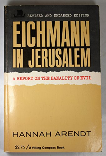 9780670001651: Eichmann in Jerusalem