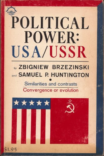 9780670001729: Political Power: USA USSR