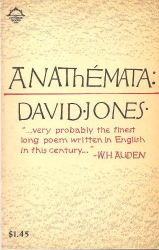 9780670001798: Anathemata