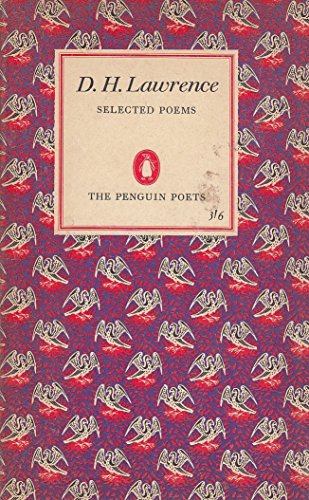 Selected Poems of D.h. Lawrence: Lawrence, D. H.