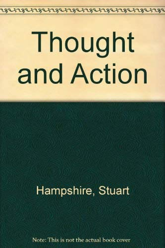 9780670002092: Thought and Action