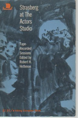 9780670002283: Strasberg at the Actors' Studio [Paperback] by Hethmon, Robert H.