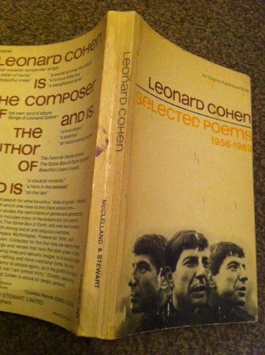 9780670002344: Leonard Cohen: Selected Poems 1956-1968