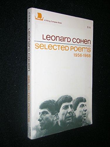 9780670002344: Leonard Cohen: Selected Poems 1956-1968