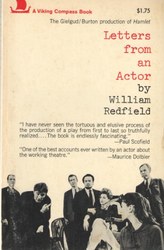 Letters from an Actor: Redfield, William