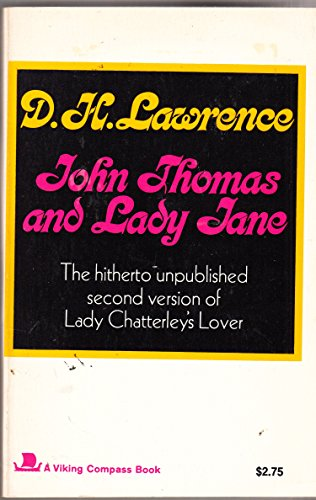 9780670003426: John Thomas and Lady Jane