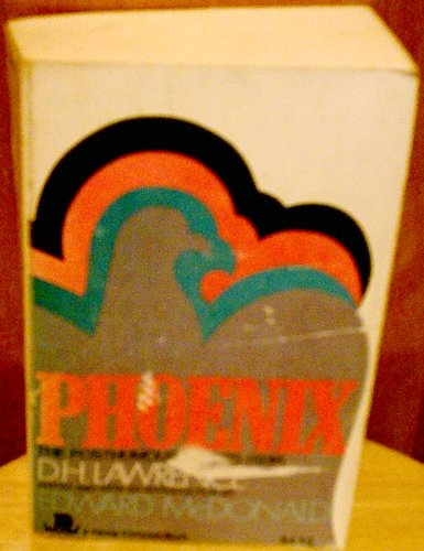 9780670003594: Phoenix: The Posthumous Papers of D. H. Lawrence