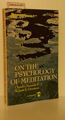 9780670003648: Title: On the Psychology of Meditation