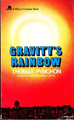 Image result for thomas pynchon gravity's rainbow