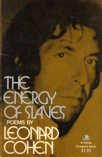 9780670003761: The Energy of Slaves: Poems