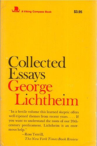 9780670005697: Lichtheim: Collected Essays