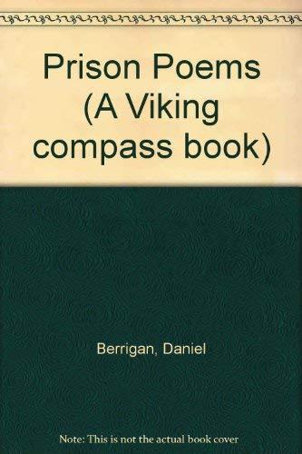 Prison Poems (A Viking compass book): Berrigan, Daniel