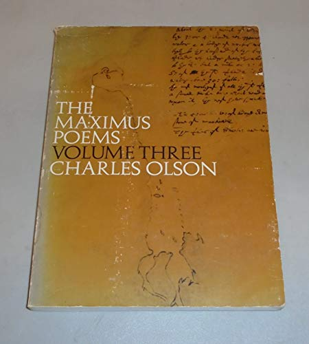 Maximus Poems: Olson, Charles