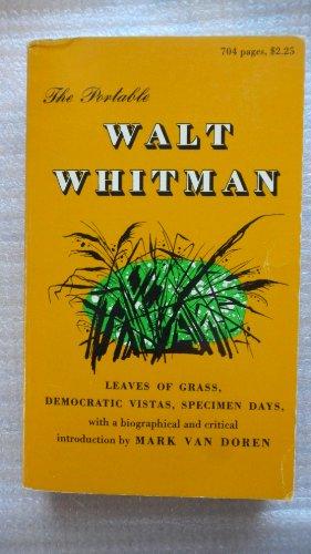 9780670010110: The Portable Walt Whitman: 2