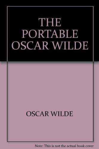 9780670010165: THE PORTABLE OSCAR WILDE