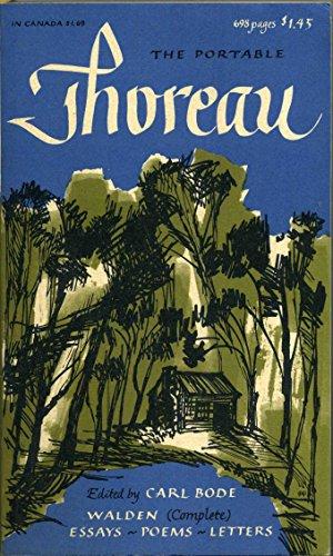 9780670010318: The Portable Thoreau (Viking Portable Library)