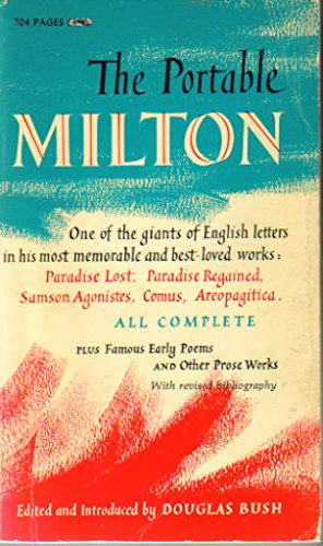 The Portable Milton (The Viking Portable Library): John Milton