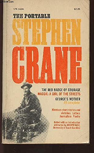 9780670010684: The portable Stephen Crane (The Viking portable library)
