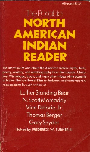 9780670010776: The North American Indian Reader (The Viking portable library)