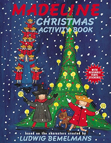 Madeline Christmas Activity Book: Ludwig Bemelmans