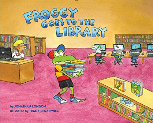 9780670015733: Froggy Goes to the Library