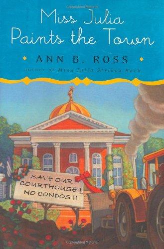 9780670018642: Miss Julia Paints the Town (Miss Julia, Book 9)