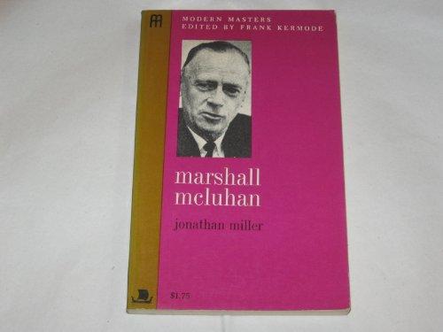 Marshall McLuhan: Jonathan Miller
