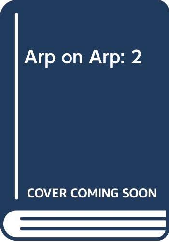 9780670019304: Arp on Arp: Poems, Essays, Memories