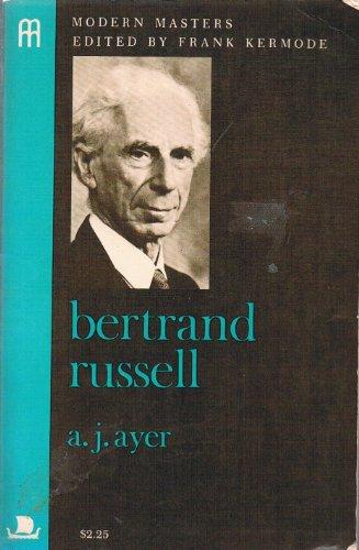 9780670019502: Bertrand Russell (Modern masters)