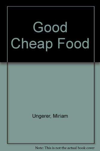 9780670019649: Good Cheap Food: 2