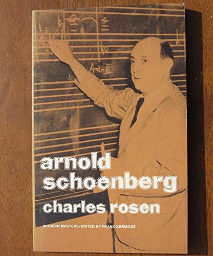 9780670019861: Arnold Schoenberg (Modern Masters)