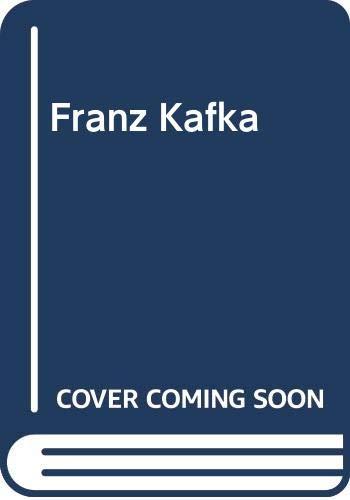9780670019878: Franz Kafka (Modern masters)