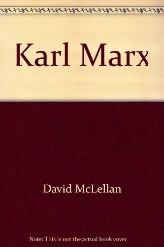 9780670019892: Karl Marx (Modern masters)