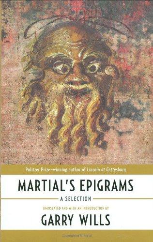 9780670020393: Martial's Epigrams: A Selection