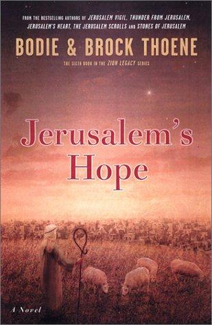 9780670030842: Jerusalem's Hope (Zion Legacy)