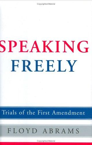 Speaking Freely: Floyd Abrams