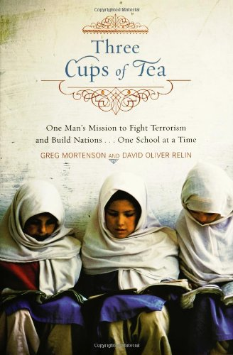 [signed] Three Cups of Tea: On
